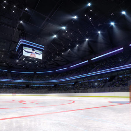 Eissporthalle von innen