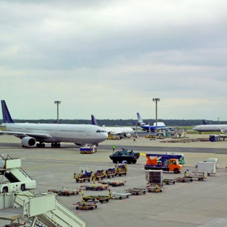 Gute Arbeit am Flughafen Frankfurt