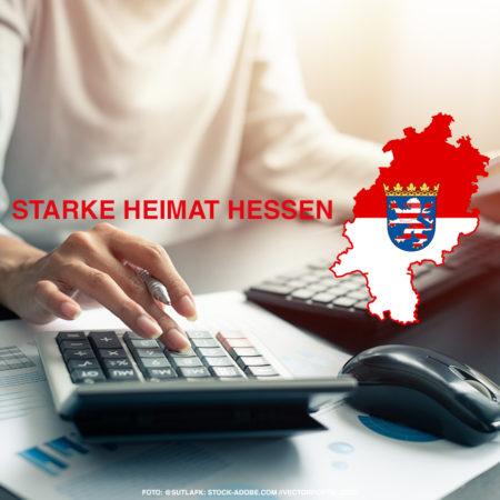 Starke Heimat Hessen. Das neue Gesetz der sogenannten Heimatumlage.