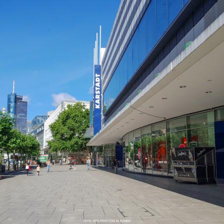 Karstadt auf der Zeil in Frankfurt