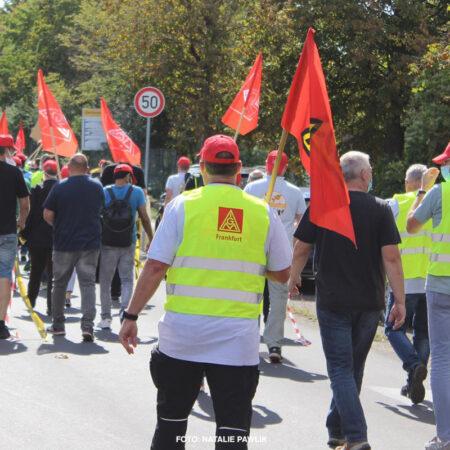 Streik Intercontinental September 2020