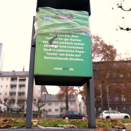 Titelbild vom Blogbeitrag Saubere Stadt Frankfurt