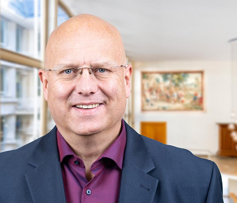 Stadtverordneter Gregor Amann der SPD-Fraktion im Römer in Frankfurt